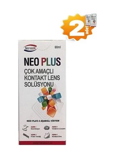 Neo Plus Neo Plus 2' li Çok AmaÇlı Kontak Lens Solüsyonu 60 ml Renksiz
